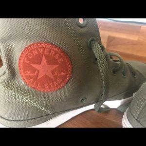 Converse All Star high tops - size 8